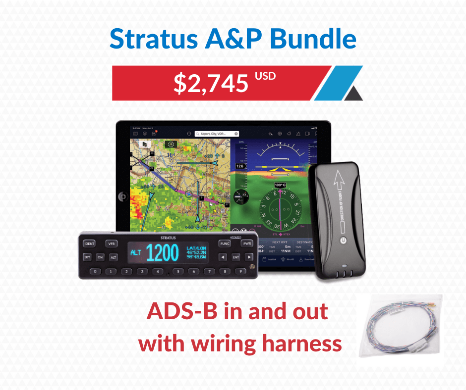 Stratus A&P bundle for ADS-B